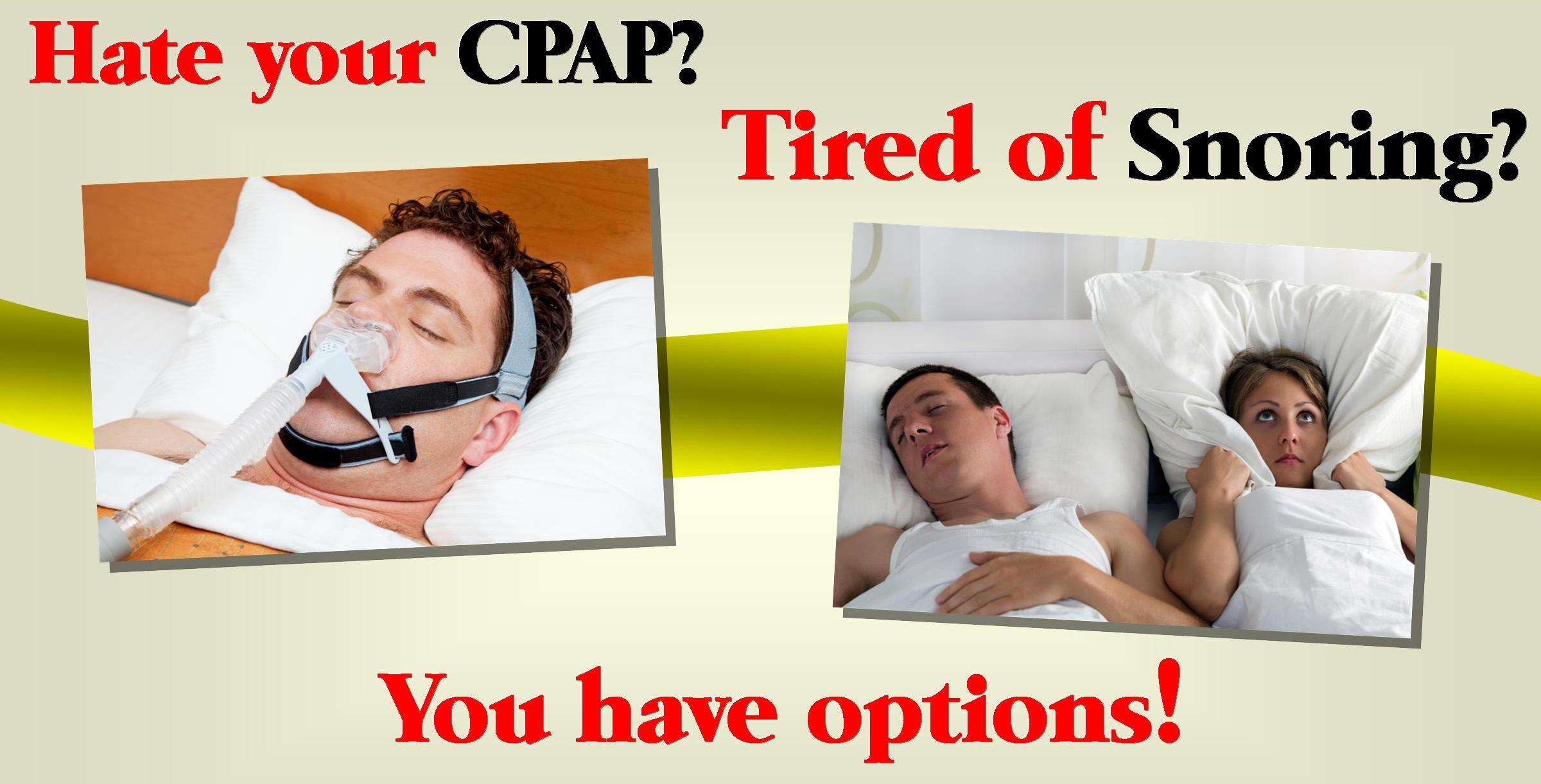 avoid sleep apnea, oral appliance, cpap